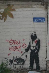 Grafit a Teheran. Foto: Melinda Legendre