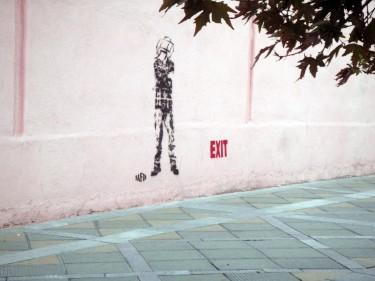 Grafit a Teheran, novembre 2012. Foto: Issa