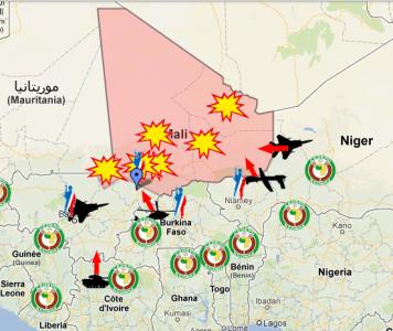 Fes clic per veure el mapa interactiu de Google realitzat per Jeune Afrique.